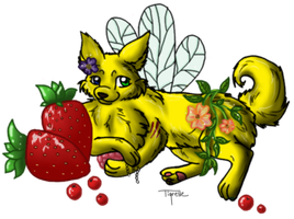 Calico BerryKeeper by CalicoWoolfe