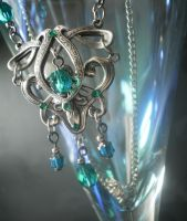 Sea Spirit necklace by Kiatali