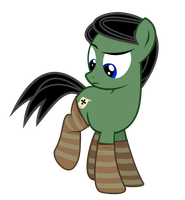 Schultz in Socks by BRONYVAGINEER