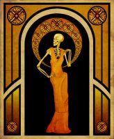 Skeletal Beauty by Andrew-Graphics