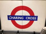 Charing Cross Station Sign by Uponia