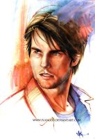Tom Cruise by ivangod