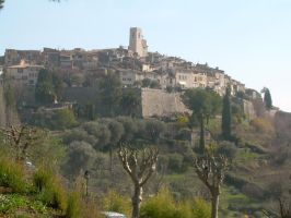 st paul de vence by trillu