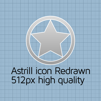 Astrill icon redrawn by will-yen
