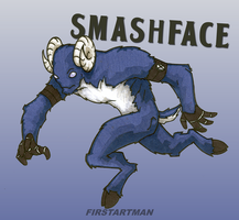 Smashface by kjmarch