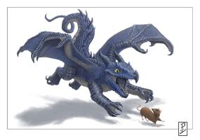 Dragons Make the best Pest Control by LyntonLevengood
