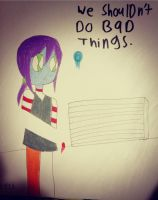 CP: we shouldn't do bad things. by phantomshoujo
