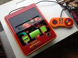 Custom Super Metroid Snes by Hananas-nl