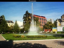 The Fountain by helleye