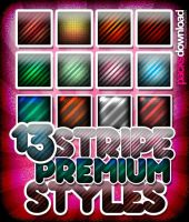 13 Noisy Stripe Premium Styles by Packsdownload