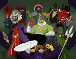 The Maestro- Trophies of his Multiversal Conquest by GorillaKing18