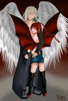 Ange et Demon by Tan-Chou