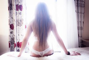 Olga and her back by GustavBAD