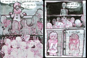 Clown Pages by unappreciatedart