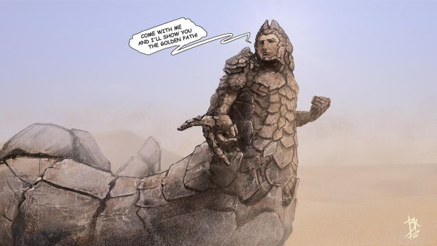 God Emperor of Dune by AGRbrod