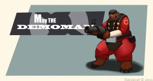 May the Demoman by Kazecat