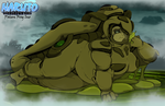 Overgrown Oni: Poison Frog Ino by Chronorin