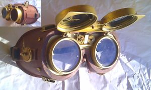 Steampunk Goggles by Henri-1