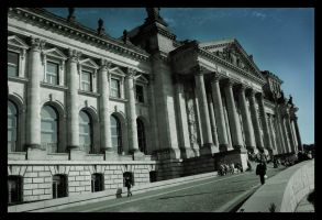 Reichstag II by ceasetobeme
