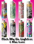Flick My Bic Lighter Icons by princessang2644