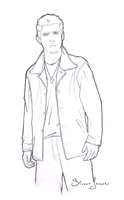 Dean Winchester Sketch by SilentImagery