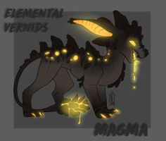Elemantal Vernid Series(Point Adoptables)(OPEN) by Loukami