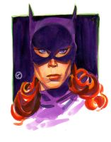 Bat Woman 50's era by riq