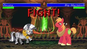 Pony Kombat Tournament Round 1, Battle 11 by Macgrubor