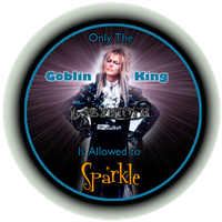 Only the Goblin King... by Sodaburger