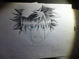 Wip: Killua Zoldyck ([ Hunter x Hunter ]) by Rayckro