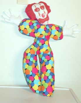 Creepy Clown by rosewoodcreations