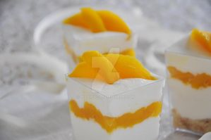 Food/ Mango dessert by TigerQG
