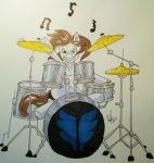 REQUEST The Psychotic Drummer by Princess-Skye