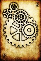 WRD: Five of Cogs by TormentedArtifacts