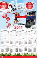 ::Claro Calendar 2011 Beta 2:: by Gallistero
