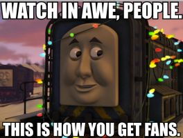Sid the Swag Engine (Meme) by Sergeant-Sunflower