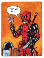 Deadpool Color by TheRigger