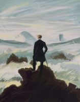 Wanderer above the Sea of Fog by mizzyvon