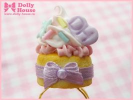 Sweet Cream Ring by Dolly House by SweetDollyHouse