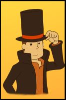 Professor Layton by Retro-Eternity
