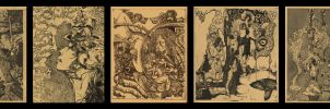 Assorted Etchings 4 of 4 by Heartofdebris