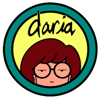 Daria Logo Remastered (PNG) by otfs