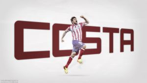 Diego Costa Wallpaper v2 by KemalEkimGraphic