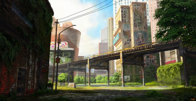 Ruined City by Alfonso-G-Padron