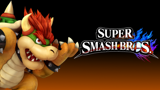 Super Smash Bros. 4 Wallpaper - Bowser by TheWolfGalaxy
