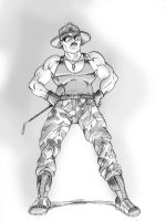 Sgt. Slaughter by Gazbot