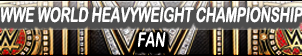 WWE World Heavyweight Championship Fan Button V2 by gonzalossj3