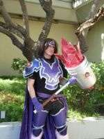 Taric 2- Comikaze Expo 2013 by MidnightLiger0