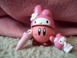 My Melody Kirby by JigglyPuffGirl