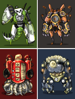Golems by FrostTechnology